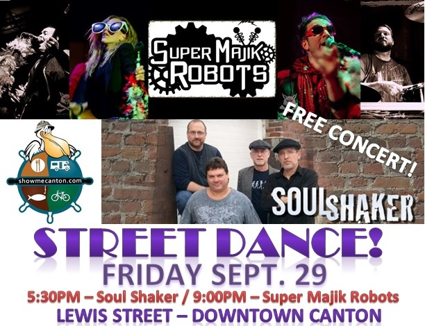 FREE Music in downtown Canton (Blues & Oldies) @ Downtown Canton MO