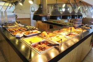 Saints Avenue Cafe lunch and Dinner Buffet