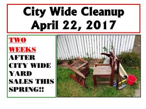 Canton City-Wide Clean-up