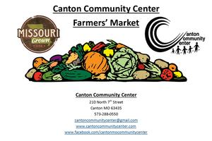 Canton Community Center Farmer's Market @ SE Corner Lot | Canton | Missouri | United States